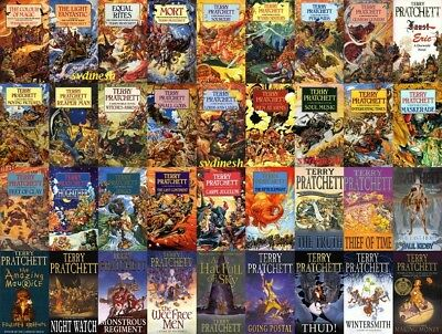41 Audiobooks - The Discworld Collection by Terry Pratchett MP3-DVD