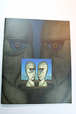 Pink Floyd 1994 world tour program book Division Bell David Gilmour Nick Mason