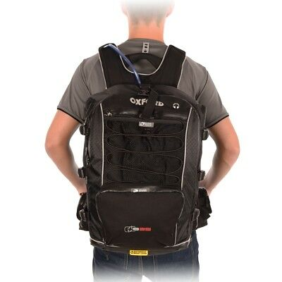 Oxford Motorcycle XB35 BACK Pack with Water Bladder Backpack Rucksack