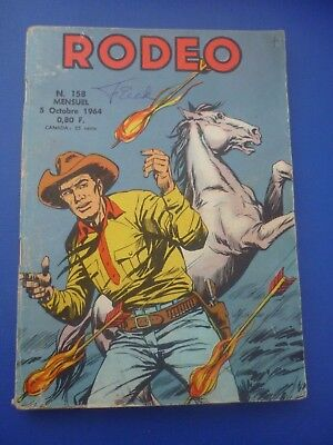 Editions LUG  :  RODEO  N° 158  -  1964  -  BE / TBE