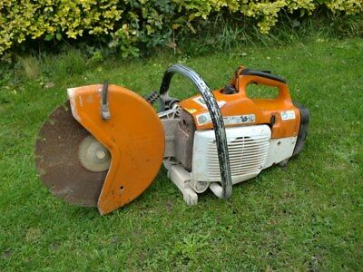 Stihl TS400 Petrol Disc Cutter With Water Feed Pipe Spares Or Repairs Will Run
