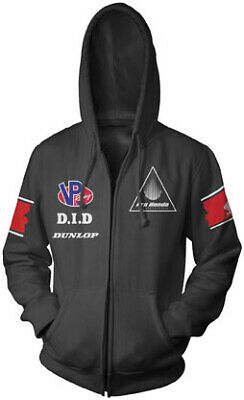 NEW Honda Collection Team Black Zip Hoody