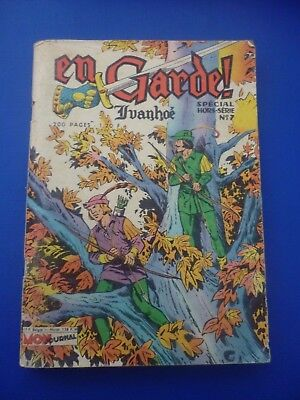 Editions MON  JOURNAL  :  EN  GARDE  -  YVANHOE  SP. H.S  N° 7  -  1974  -  TBE