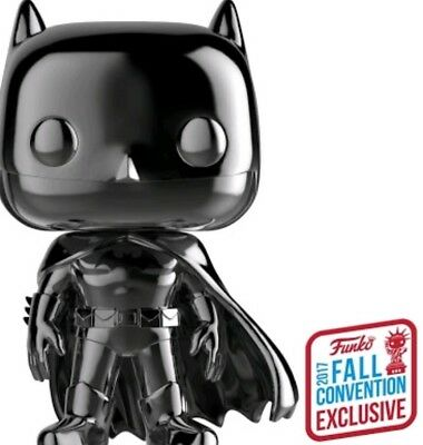 Funko Pop ! Vinyl - Batman Black Chrome ! NYCC 2017 Exclusive !