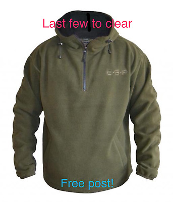 ESP Hooded Fleece Carp Fishing To Clear FREE POST!!!!