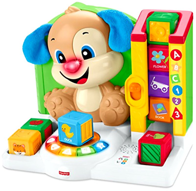Fisher Price Laugh and Learn First Words Christmas Holidy Guft Smart Puppy Toy