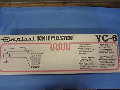 Knitmaster / Silver Yc6 Automatic Yarn Changer / Colour Changer.