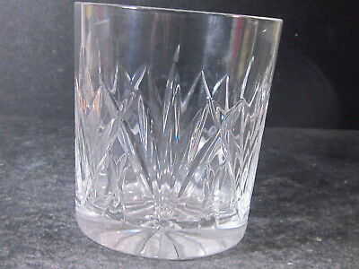"""Waterford Marquis BROOKSIDE DOUBLE OLD FASHIONED STRAIGHT SIDE GLASS 3 5/8"""""""
