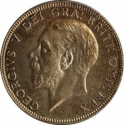 1927 King George V Florin silver Proof coin