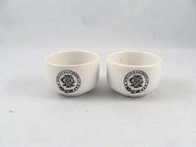 2 Vintage/antique African Caterers Ltd. Small Bowl By Maddock Hotel Ware