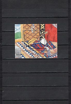 1994 kyrgyzstan komuz musical instrument yurt carpet block
