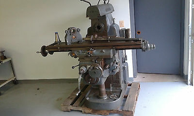 Cincinnati No. 2MI Horizontal Milling Machine