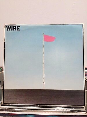 WIRE: Pink Flag RARE 1977 Original Harvest 1st Issue Promo Sample - VGC