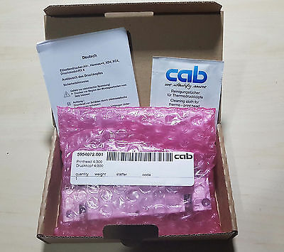 Printhead for CAB A4+ printer. 300 dpi New and sealed. P/N: 5954072.001