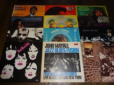 50 LPS Vinyl Record Collection Job Lot 3