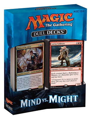 MTG DUEL DECKS * Mind Vs. Might
