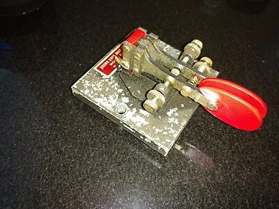 Brown Brothers BTL-A Ham Radio Morse Paddle Key CW