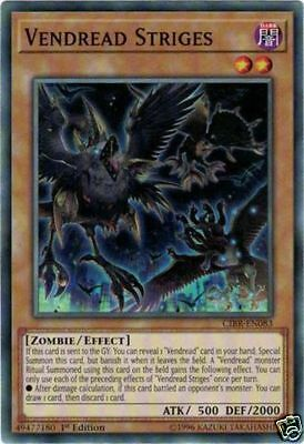 Yugioh CIBR-EN083 Vendread Striges Common 1st Edition In Stock Now!