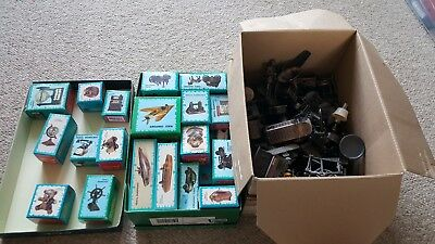 JOB LOT 105 Die Cast Miniature Sharpener Antique Brass Finish Vintage Metal RARE