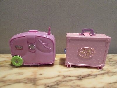 polly pocket 1996 Holiday Fun & Polly in Paris compacts NO DOLLS