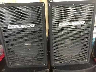 2 x Carlsbro Alpha 12 / 200w Celestion speakers