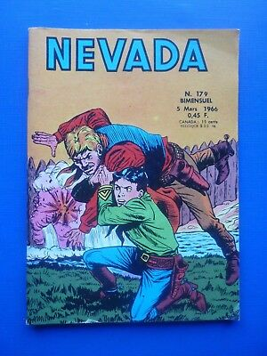 Editions LUG  :  NEVADA  N° 179  -  1966  -  NEUF