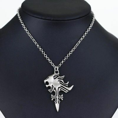 Cos Cosplay Final Fantasy VIII 8 Griever Squall Leonhart Lion Necklace Pendant