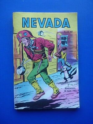 Editions LUG  :  NEVADA  N° 94  -  1962  -  NEUF