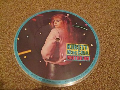 """KIRSTY MCOLL They Don't Know UNPLAYED UK 7"""" vinyl picture disc"""