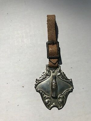 Authentic Early 1900's Coca-Cola Pocket Watch Fob~NOT A REPRODUCTION