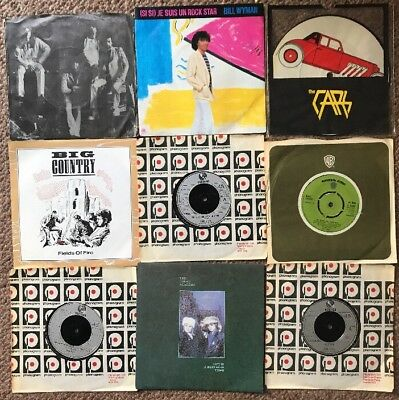 1970's Vinyl Job lot X9 Rock Thin Lizzy/cars/Alice Cooper/Dream Academy Etc.)