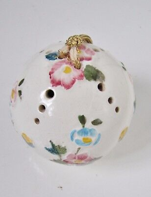 Vintage POMANDER / Potpourri Ball by FLORIS of LONDON