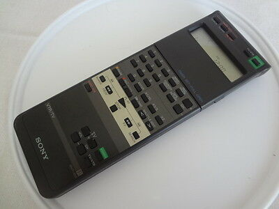 RMT-455 remote for Sony EV-S550 Video 8 player & recorder Used. Works.