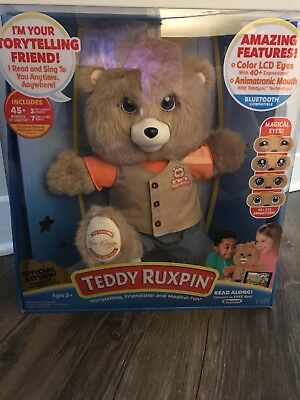 2017 New Animated Teddy Ruxpin Exclusive Edition