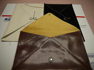 Wholesale Leather Envelopes lizard Embossed SPECIAL for ( 10 )Pieces  WIDE