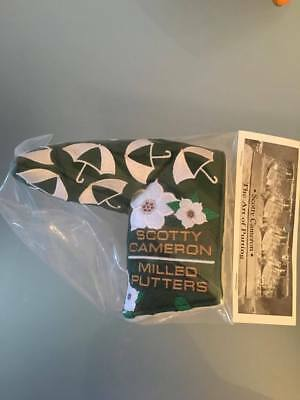 Scotty Cameron Masters 2017 Dancing Umbrellas Putter Headcover