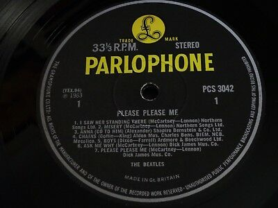 The Beatles - Please Please Me Stereo - Parlophone - Beautiful Condition!