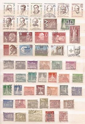 Berlin -  Lot Of  360 Stamps - 7  Images