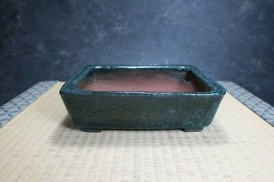 "Genuine Japanese Bonsai pot ""Yoshimura Syuho"" from Tokoname."