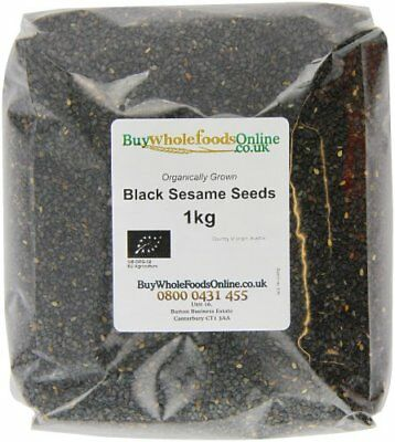 Buy Whole Foods Organic Black Sesame Seeds 1 Kg