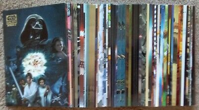 Lot of 60 Different 2010 Topps Star Wars Galaxy Series 5 Cards - 91 Cards Total