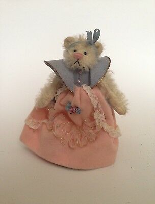 DEB CANHAM MINIATURE TEDDY Bear Oz Collection Good Witch