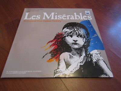 LES MISERABLES  Double Vinyl LP (incl I Dreamed A Dream, Bring Him Home) Ex.Cond