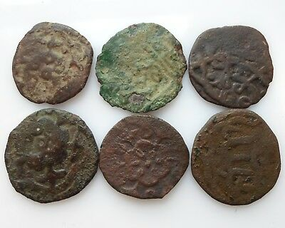 Golden Horde Ulus Of Jochi PUL XIV century In the lot of 6 PCs