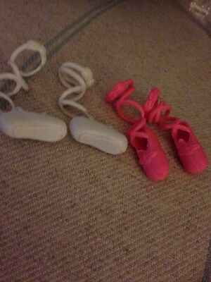 Doll Ballet Shoes . One Pair Ballet Shoes . Dolls Accesorries.