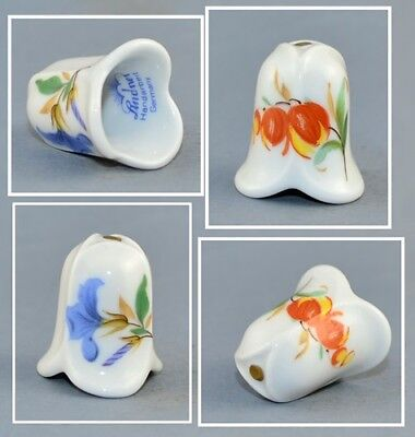 Lindner Germany Flowers Thimble # 1