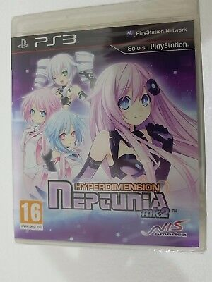 Ps3 Sony Playstation 3 Hyperdimension Neptunia Mk2