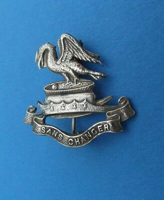 WW1 Liverpool Pals (Kitchener's Army) Brass Sweetheart Brooch Badge Pin