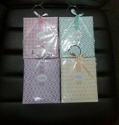 car x sachets drawers scented fragrance rose inc for lavender wardrobe hanger or cars freshener vanilla