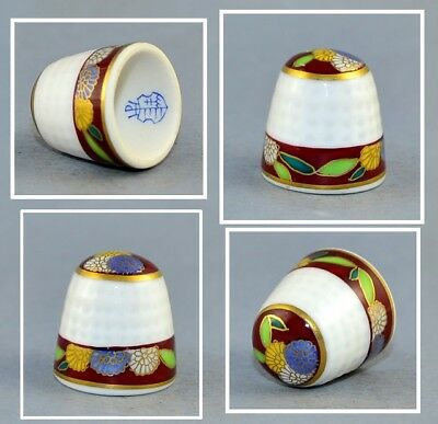 Herend Hand Painted Thimble .